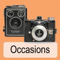 occasion foto canera's, occasion movi camera's, occasion lenzen