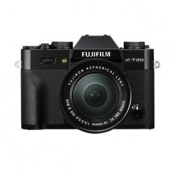 Fujifilm X-T20 zwart  18-55 XF lens