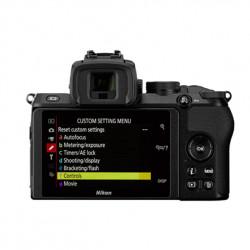 Nikon Z50 + ZDX 16-50vr lens