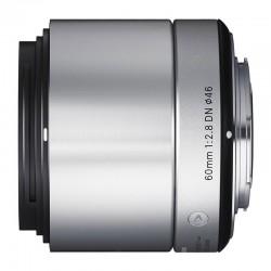 Sigma 60mm F2.8 DN Art (zilver) voor Micro FourThirds