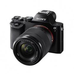 Sony A7 ICLE -7K  zwart + 28-70mm F3.5-5.6 OSS zwart