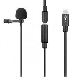 Boya Clip-on Lavalier Microfoon BY-M2 voor iOS