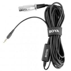 Boya XLR naar 3,5 mm TRS Microfoon Adapter BY-BCA6