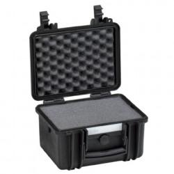 Explorer Cases 2717 Koffer Zwart met Plukschuim