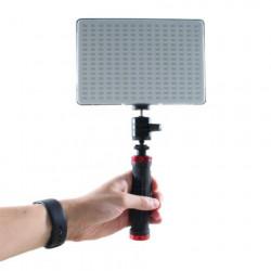 Falcon Eyes Bi-Color LED Lamp Set Dimbaar DV-240SL-K1 incl. Accu