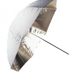 Falcon Eyes Flitsparaplu UR-32G Goud/Wit 80 cm