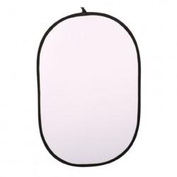 Linkstar Reflectiescherm 2 in 1 R-100150SW Zilver/Wit 100x150 cm