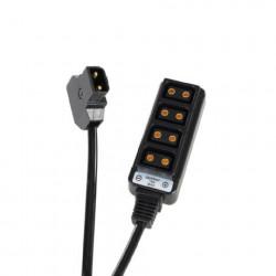 Rolux D-Tap Converter naar 4 x D-Tap RL-FB1
