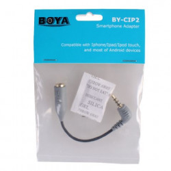 Boya Smartphone Adapter BY-CIP voor iOS en Android - TRS TRRS