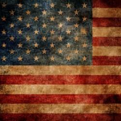 Click Props Achtergrond Vinyl met Print American Flag 1,52 x 1,52m