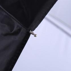 Falcon Eyes Flitsparaplu UR-32WB Wit/Zwart 80 cm