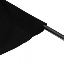 Linkstar Achtergronddoek AD-02 2,9x5 m Zwart Uitwasbaar
