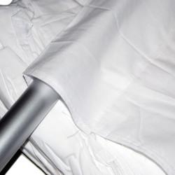 Linkstar Achtergronddoek AD-03 2,9x5 m Grijs Uitwasbaar