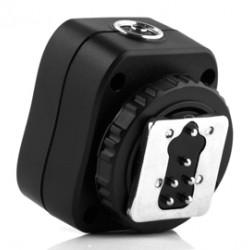 Pixel Hotshoe Adapter met X-Contact TF-326 voor Canon