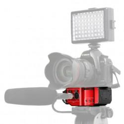 Saramonic Audio Adapter SR-PAX2 voor DSLR, CSC en Black Magic Camera's